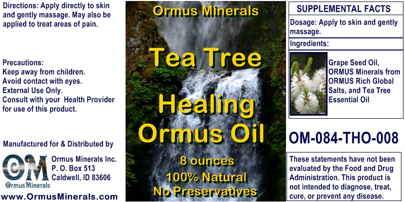 Tea Tree Healing Oil